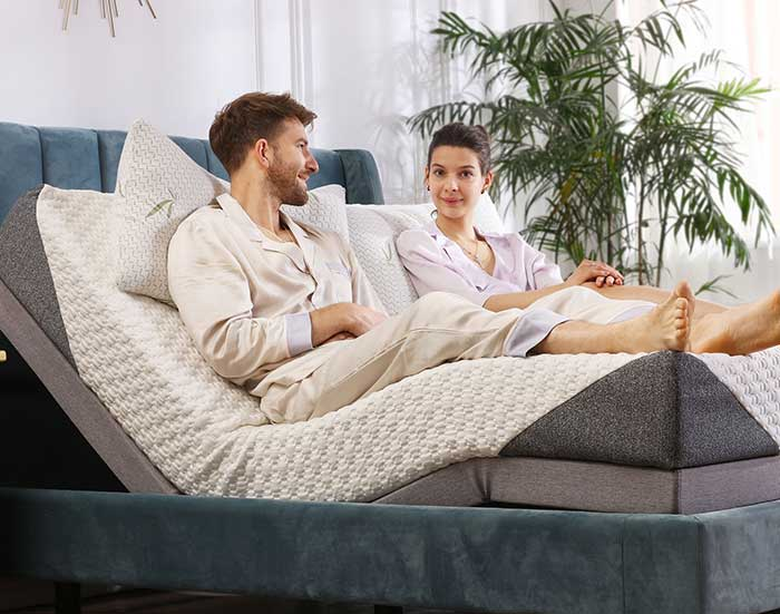Adjustable Electric Bed And Mattress Slumberworld